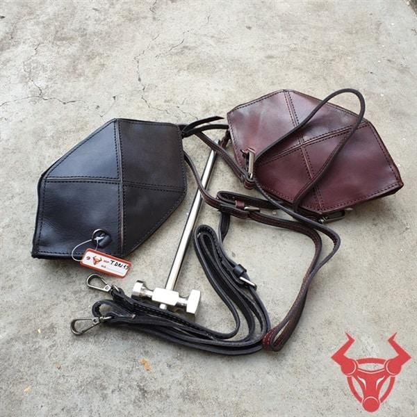 Túi Da Đeo Chéo Nữ Handmade Giá Rẻ TDN19-Đ