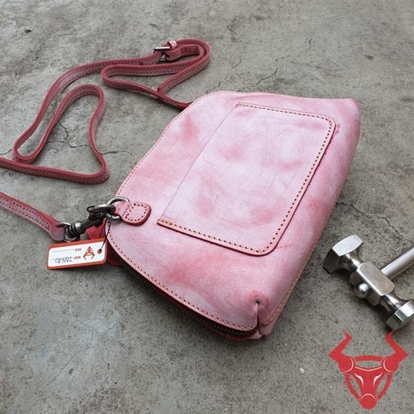Túi Da Handmade Đẹp TDN10-Đ