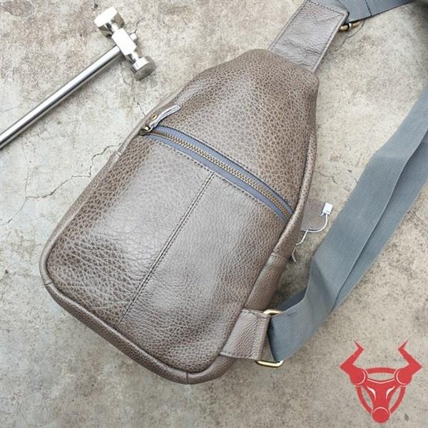 Túi Đeo Trước Bụng Da Bò Giá Rẻ TDL89-XC