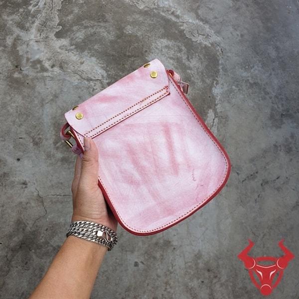 Túi Đeo Vai Nữ Da Bò Giá Rẻ TDN17-Đ