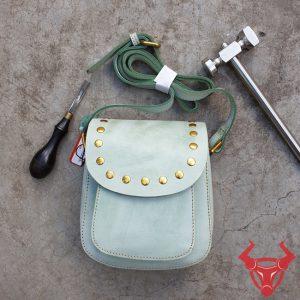 Túi Đeo Vai Nữ Handmade Da Bò Tphcm TDN17-XL