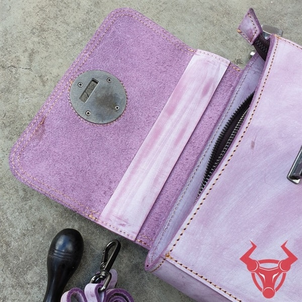 Túi Handmade Nữ Da Bò Thật TDN15-TN