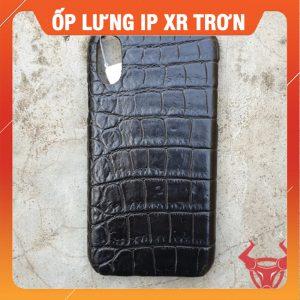 Ốp Lưng IP XR Da Cá Sấu OX1A8