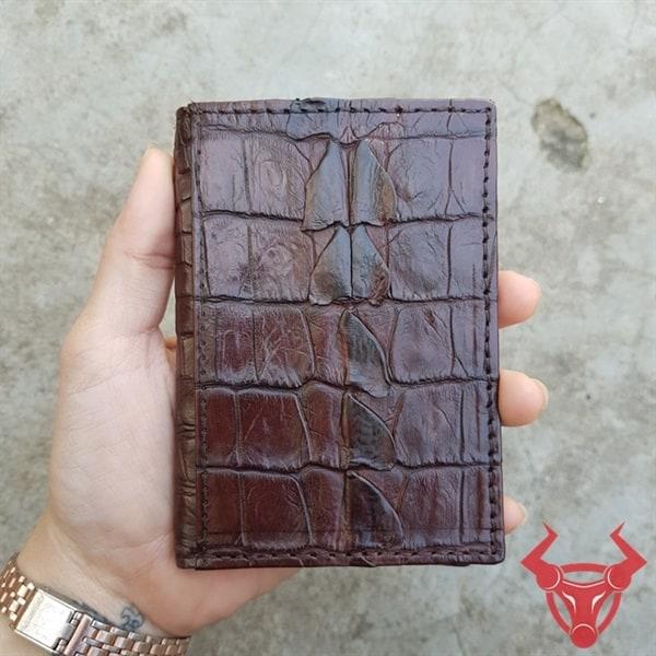 Bóp Card ATM Gai Đuôi Cá Sấu VK0202