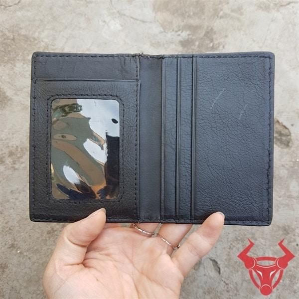 Bóp Đựng Card ATM Gai Đuôi Cá Sấu VK0102