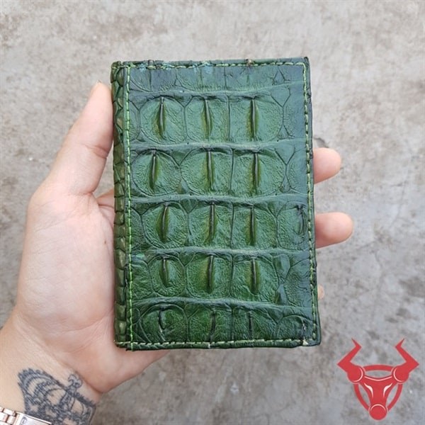 Bóp Name Card Da Cá Sấu Gai Lưng VK1101