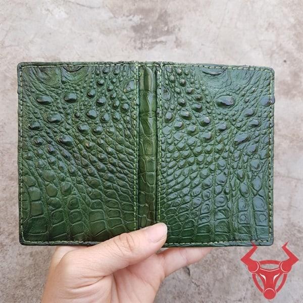 Bóp Name Card Da Cá Sấu Trơn VK1108