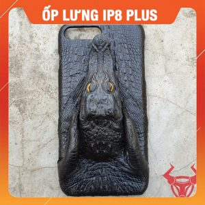 Ốp Lưng Cá Sấu Đầu Cá Đen ip 7plus/8plus OC1A10