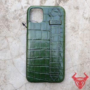 Ốp Lưng Da Cá Sấu Thật Iphone 11 Pro Max OP1108