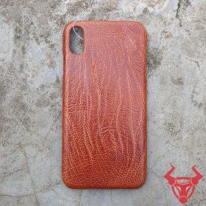 Ốp Lưng Da Đà Điểu Iphone XS Max OA02D2