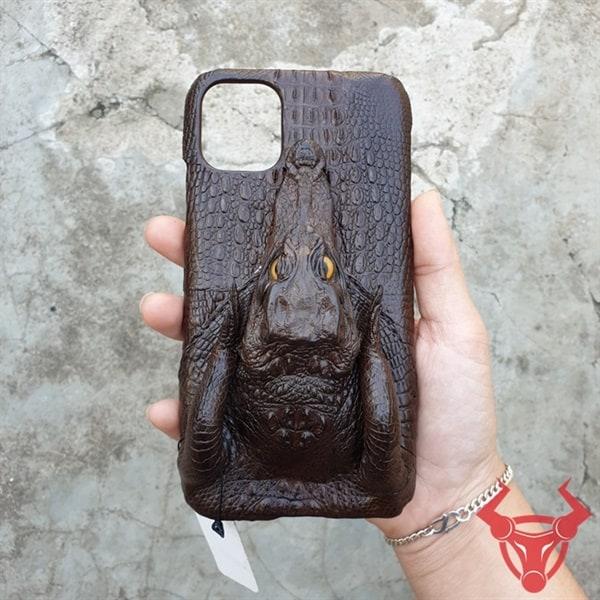 Ốp Lưng Đầu Cá Cá Sấu Iphone 11 Pro OD0210-Pro