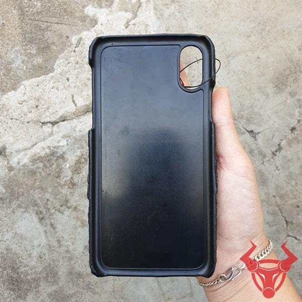 Ốp Lưng Đầu Cá Sấu Cho Iphone X OB0110