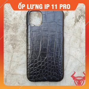 Ốp Lưng  Iphone 11 Pro Da Cá Sấu