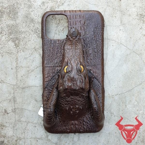 Ốp Lưng Iphone 11 Pro Max Da Cá Sấu OD0210-Pmax