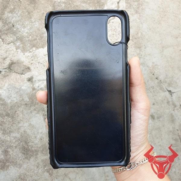 Ốp Lưng Iphone XS Max Đầu Cá Sấu OA0110