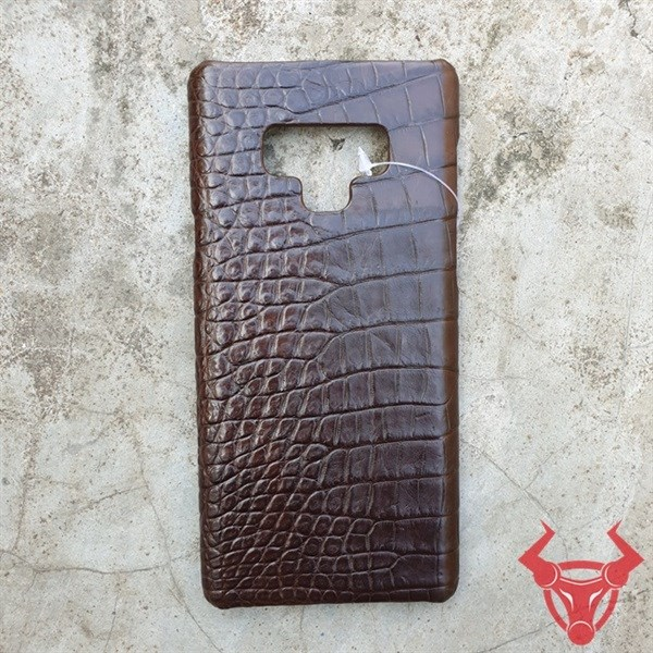 Ốp Lưng Note 9 Da Cá Sấu Thật OL0208
