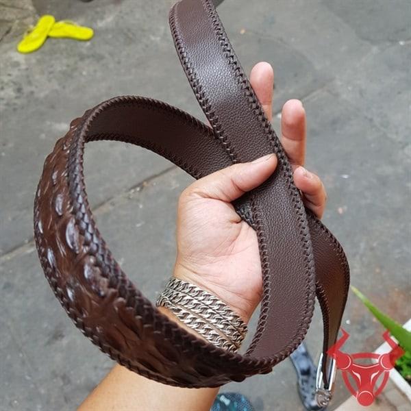 Thắt Lưng Da Cá Sấu Thật TM020404