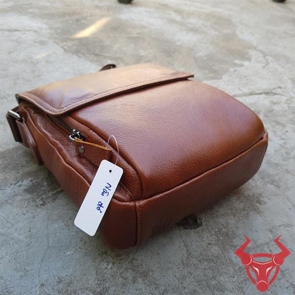 Túi Đeo Chéo Nam Da Bò Thật KT60-NĐ