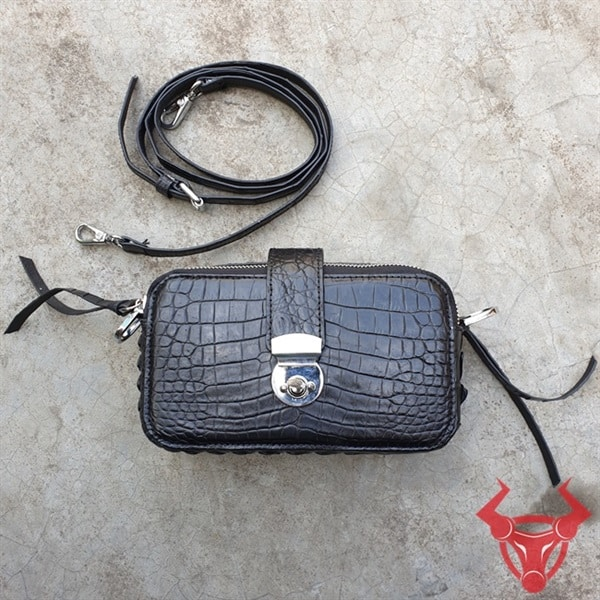 Túi Hộp Cá Sấu Nữ Đeo Chéo TH0108-A