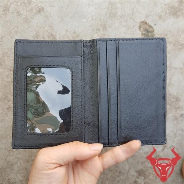 Ví Card ATM Gai Lưng Da Cá Sấu VK0101