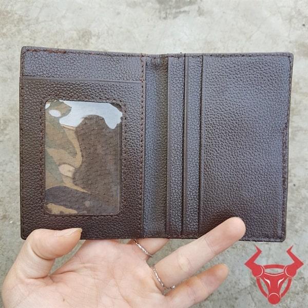 Ví Da Đà Điểu Đựng Thẻ Card VK02D3