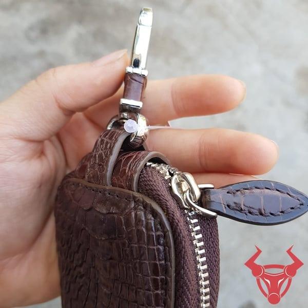 Bao Da Chìa Khóa oTo Da Cá Sấu MK0208-A