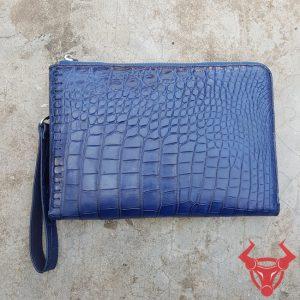 Túi Clutch Nam Da Cá Sấu Cao Cấp Da Thật CC12A8
