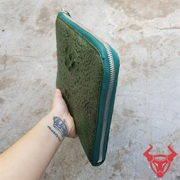 Clutch Da Cá Sấu Sang Trọng CC1104