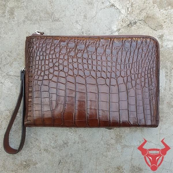 Clutch Nam Da Cá Sấu TP HCM CC0208