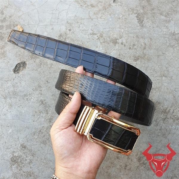Dây Lưng Da Cá Sấu Thật Không Nối TT010802