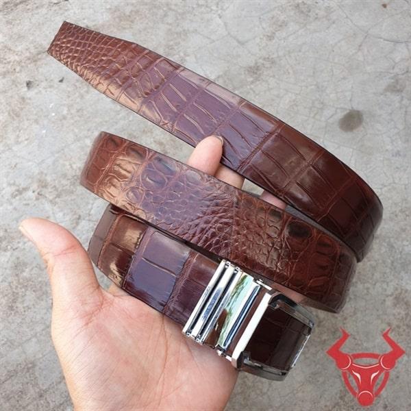 Dây Nịt Da Cá Sấu Thật XK Giá Rẻ TT020801
