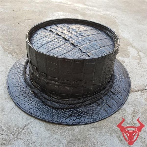 Nón Tai Bèo Da Cá Sấu Thật NO0101-A
