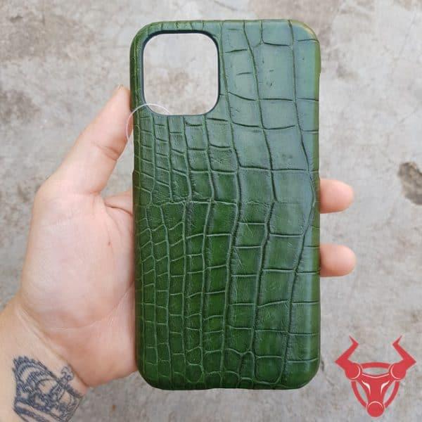Ốp Lưng Da Cá Sấu Iphone 11 OD1108