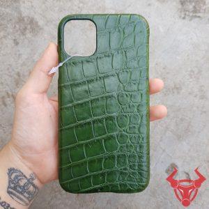 Ốp Lưng Da Cá Sấu Iphone 11 pro OD11A8-pro