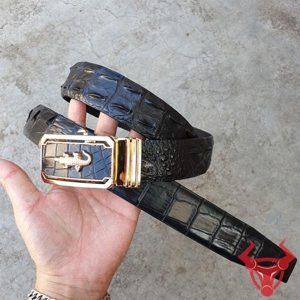 Thắt Lưng Da Cá Sấu Liền Giá Tốt TT010402