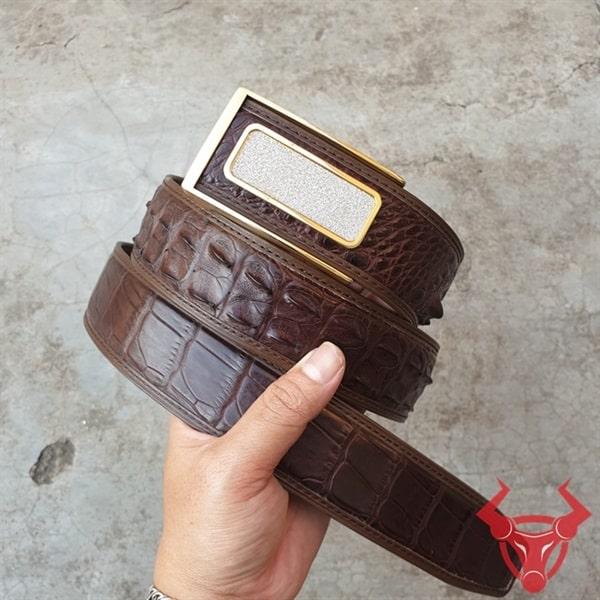 Thắt Lưng Da Cá Sấu Xuất Khẩu TL020408E