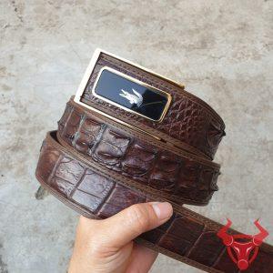 Thắt Lưng Nam Da Cá Sấu Xuất Khẩu TL020408F
