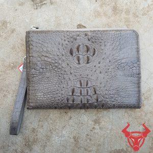 Túi Clutch Nam Da Thật Da Cá Sấu CC15A4