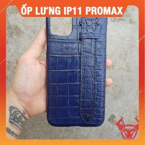 Ốp Lưng Da Cá Sấu Ip 11 Pro Max OP12A8