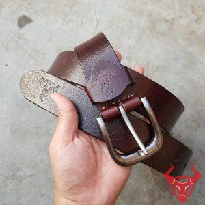 Dây Nịt Da Bò Polo Khóa Đồng Inox TLK09A-NĐ