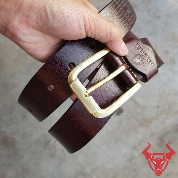 Thắt Lưng Da Bò Diesel Khóa Đồng Giá Rẻ TLK09-NĐ