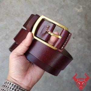 Thắt Lưng Nam Da Bò Khóa Đồng TLK11-NĐ