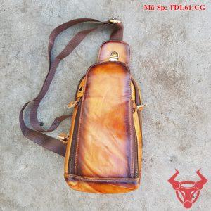 Túi Đeo Chéo Nam Da Bò Giá Rẻ TDL61-CG