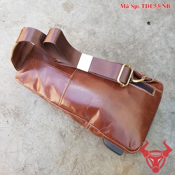 Túi Đeo Chéo Nam Da Bò TDL53-NB
