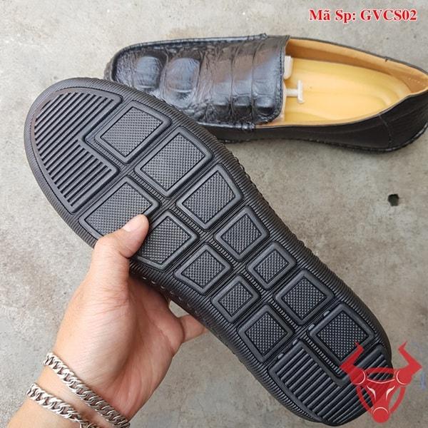 Giày Lười Nam Da Bò Dập Vân Cá Sấu GVCS02 (6)