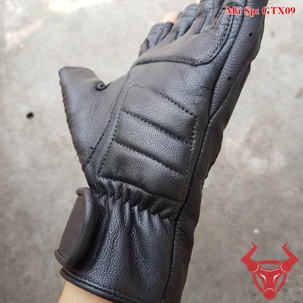 Găng Tay Da Cừu Xe Máy GTX09