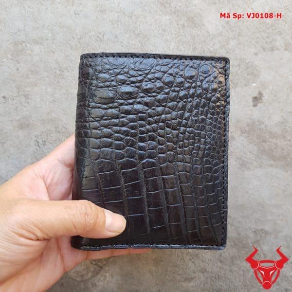 Ví Đứng Da Cá Sấu Nam VJ0108-H
