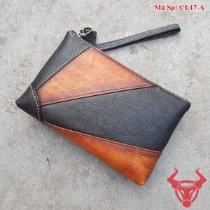 Clutch Cầm Tay Da Bò Nam CL17-A