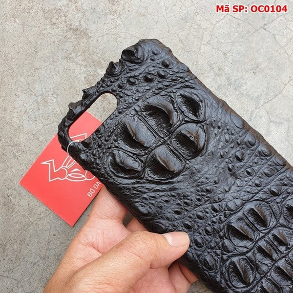 Tuidacasau Ốp Lưng 7Plus/8Plus Cá Sấu Gù Đen OC0104 (4)
