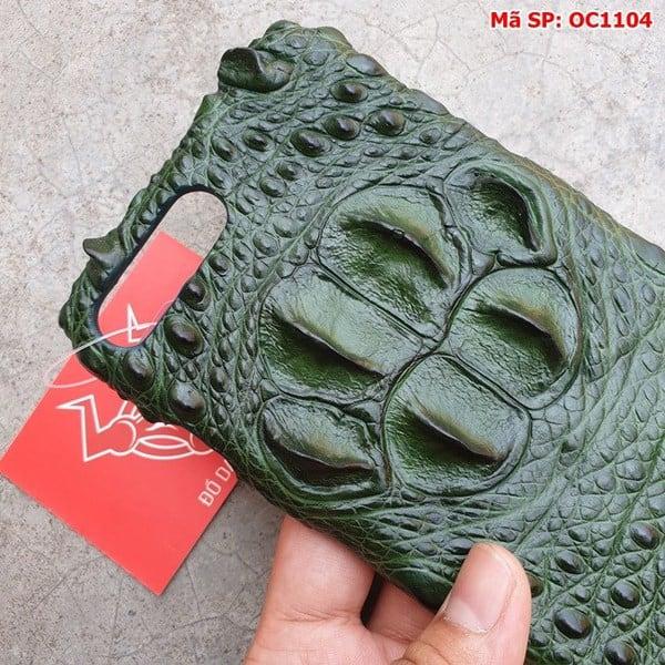 Tuidacasau Ốp Lưng Cá Sấu Ip 7Plus/8Plus Gù Xanh Lá OC1104 (3)